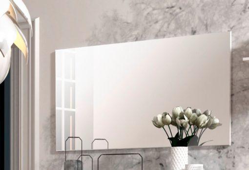 Prostokątne lustro bez ramy 120x65 cm