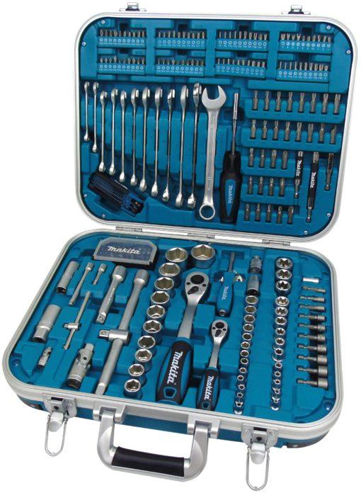 Zestaw narzędzi Makita P-90532, 227-elementów, w zamykanej walizce