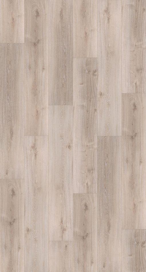 Panel podłogowy, winylowy, dąb szary, (dł./szer./szer.): 1209 x 225 x 5,3 mm