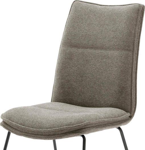 Krzesła Hampton MCA w kolorze Cappuccino - 2 sztuki