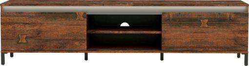 Szafka pod telewizor w kolorze dąb, włoski design 200 cm