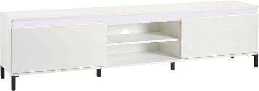 Szafka pod telewizor biała, włoski design 200 cm