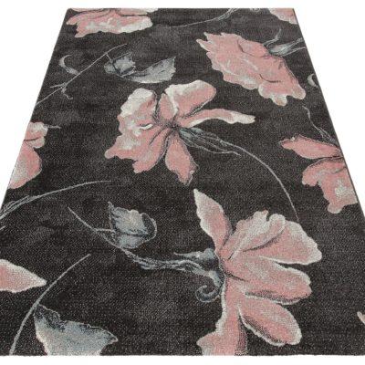 Dywan z kwiatowym wzorem 60x110 cm