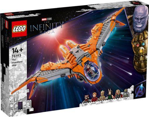 LEGO Marvel Statek Strażników (76193) Avengers 1901 el.