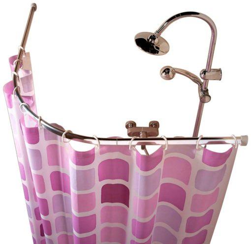 Stelaż, pręt do zawieszenia zasłony prysznicowej
