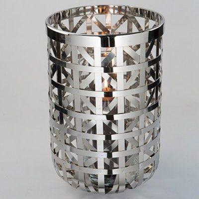 Ekskluzywny świecznik Fink, srebrny